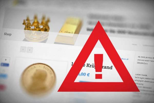 Warnung vor: goldscheideanstalt-kunst.de, - Fakeshops