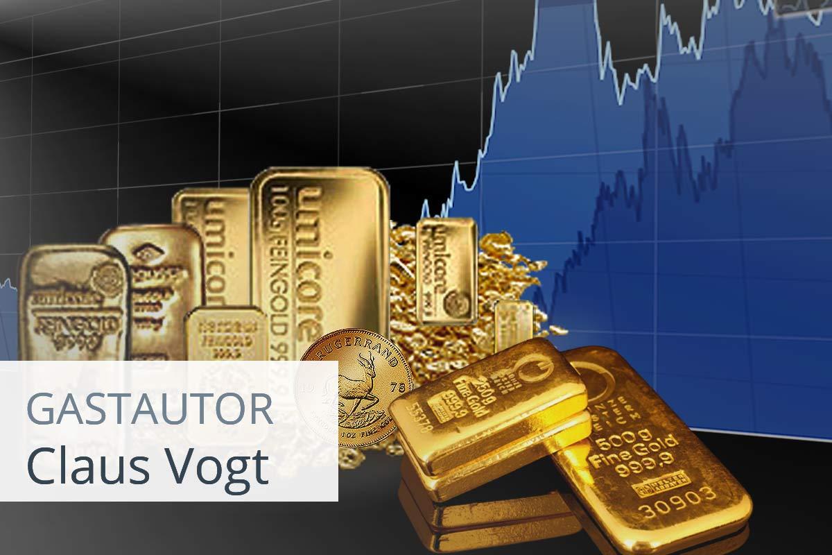 Gold hat seit der Jahrtausendwende die Nase vorn