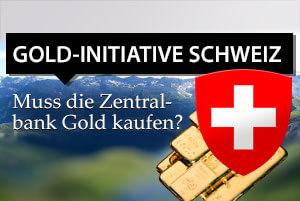 Gold-Initiative Schweiz: Muss die Zentralbank Gold kaufen?