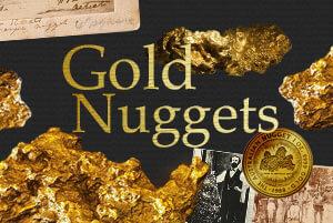 Goldnuggets: Die größten Nugget-Funde der Welt