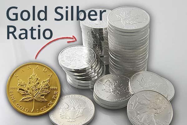 Gold Silber Ratio - aktuell über 84!