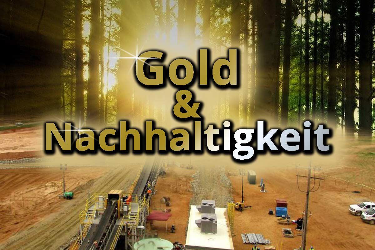 Gold und Nachhaltigkeit