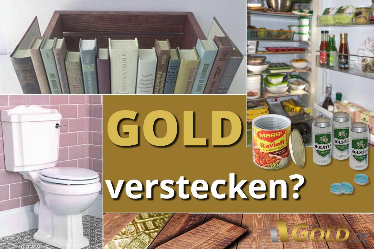 Gold verstecken: Wie sinnvoll ist das?