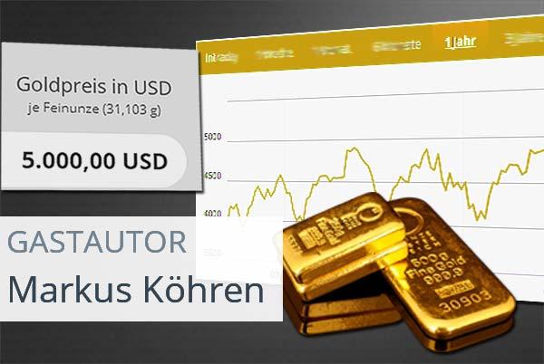 Verbindliche Goldpreisprognose für 2018 - 5000 $ oder lieber nicht?