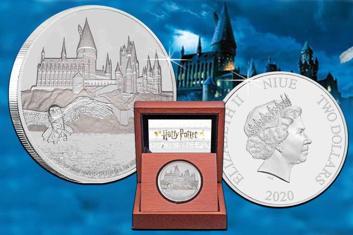 Harry Potter – Hogwarts Castle 1 oz Silber Proof