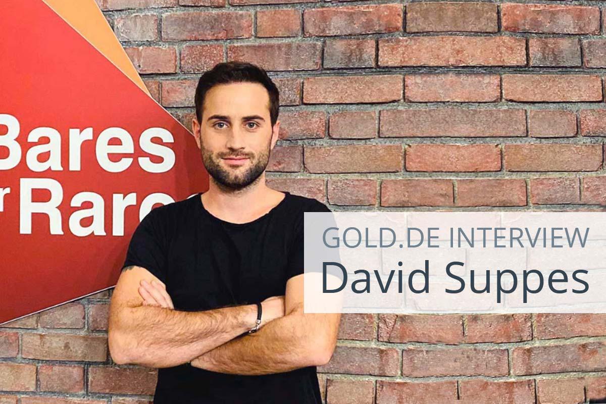 David Suppes aus Bares für Rares im Interview