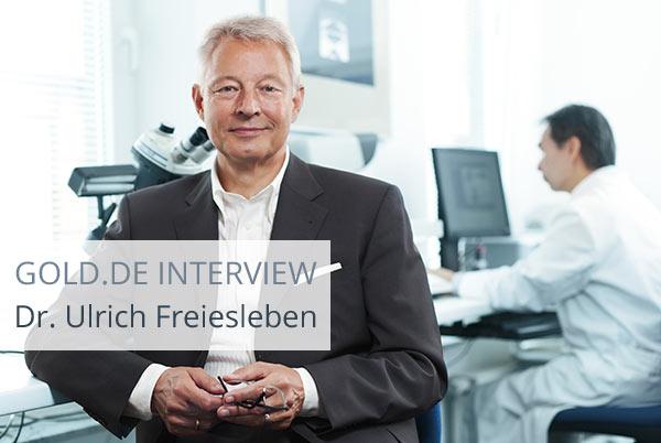 Diamant-Experte Dr. Freiesleben im Interview