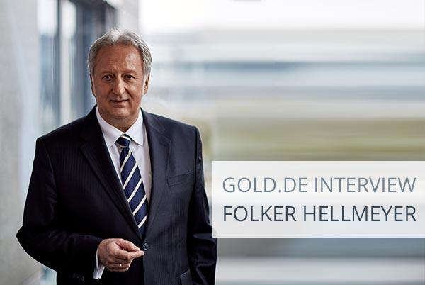 """""""Gold ist ultimatives Geld"""": Interview mit Folker Hellmeyer"""