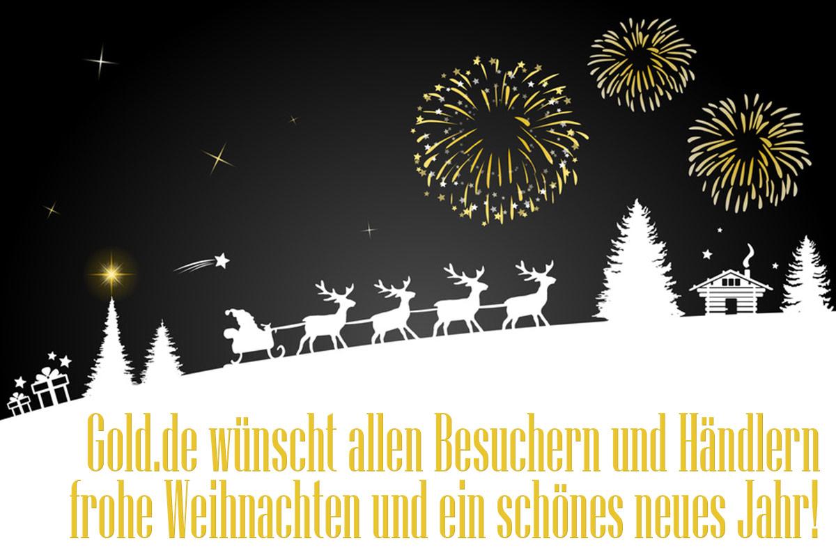 GOLD.DE wünscht allen schöne Weihnachten!