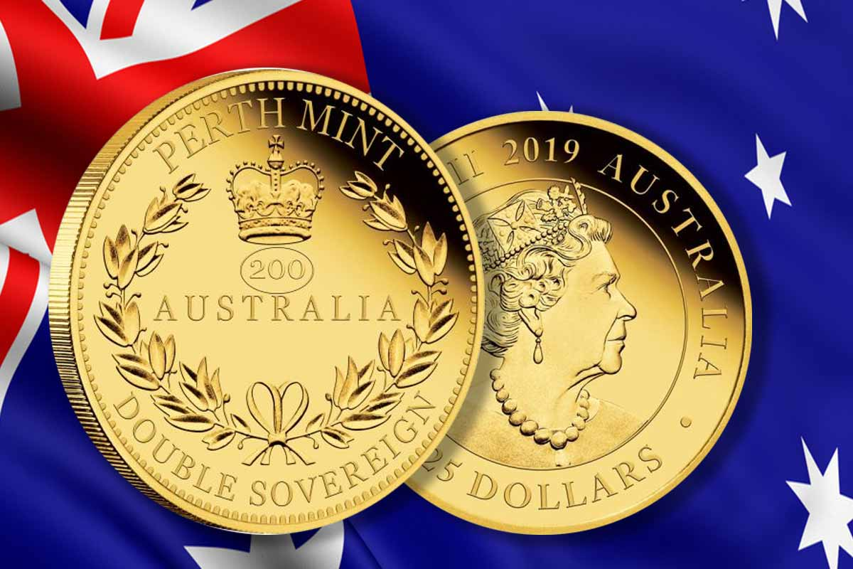 Jetzt hier - Australia Double Sovereign 2019