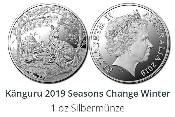 Känguru 2019 Seasons Change Winter Edition