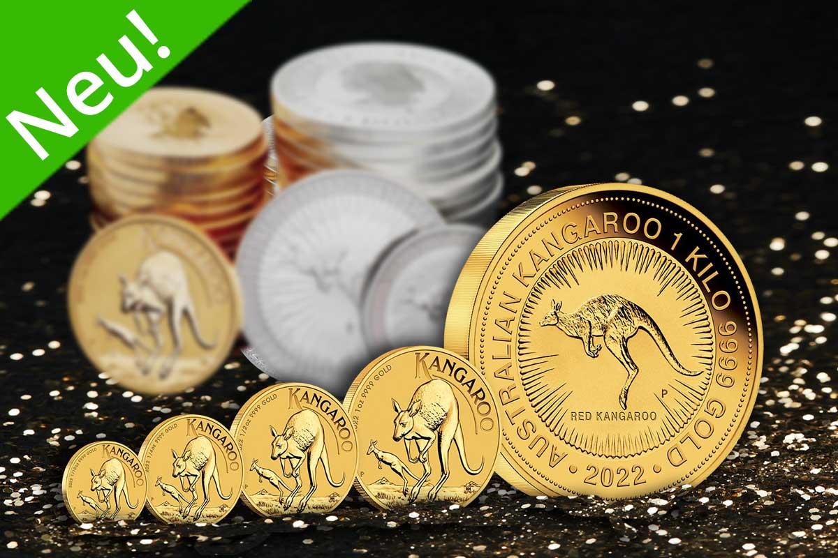 Känguru Gold - Neues Motiv 2022 jetzt ansehen!