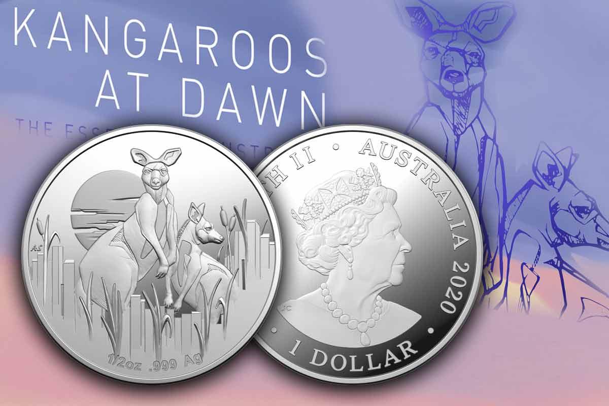 Kangaroo at Dawn 2020 1/2 oz Silber Proof - Jetzt vergleichen