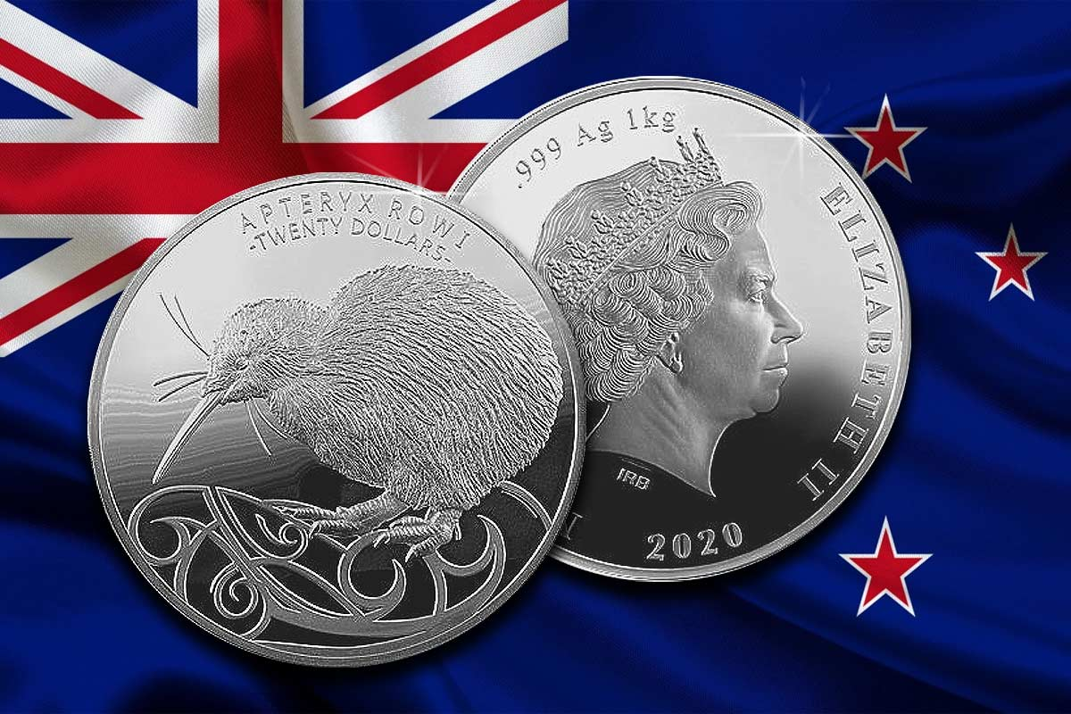 Kiwi 2020 Silber 1 kg - Hier vergleichen!