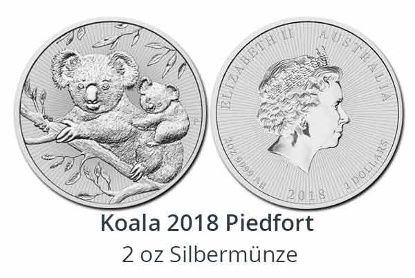 Koala Next Generation 2 oz Piedfort