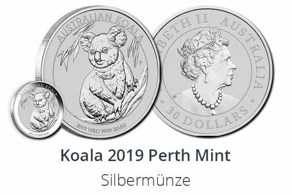 Koala 2019 Silber