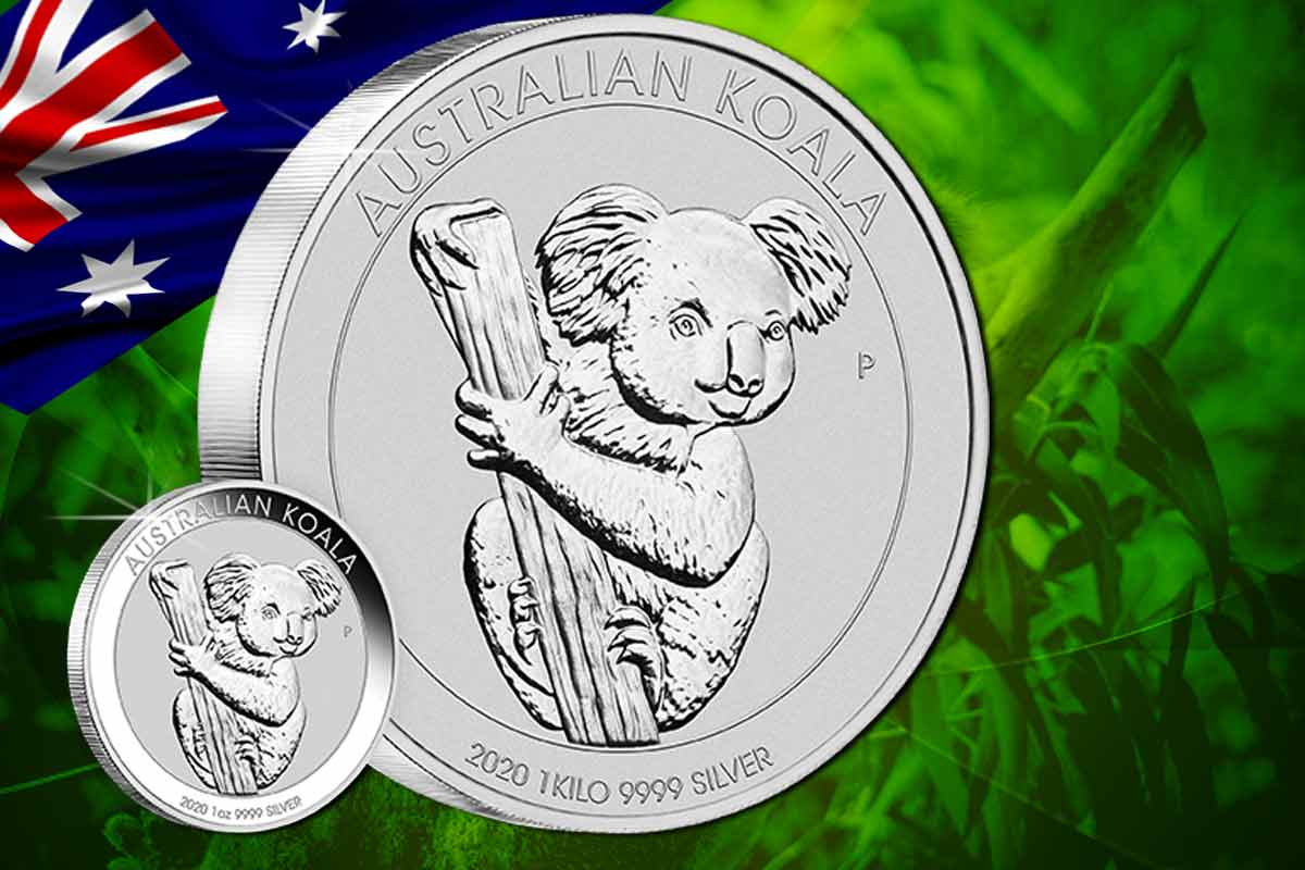 Koala Silber  2020 – Jetzt neues Motiv!