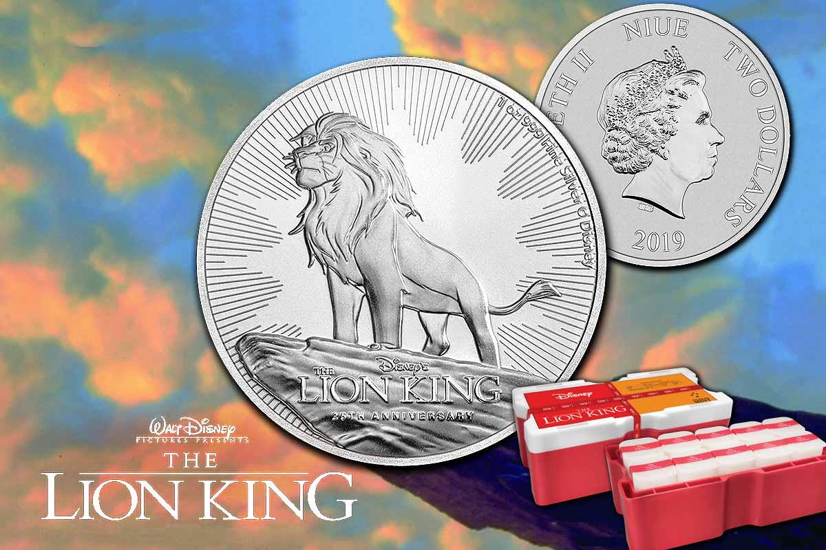 König der Löwen 2019 - jetzt in Silber erhältlich