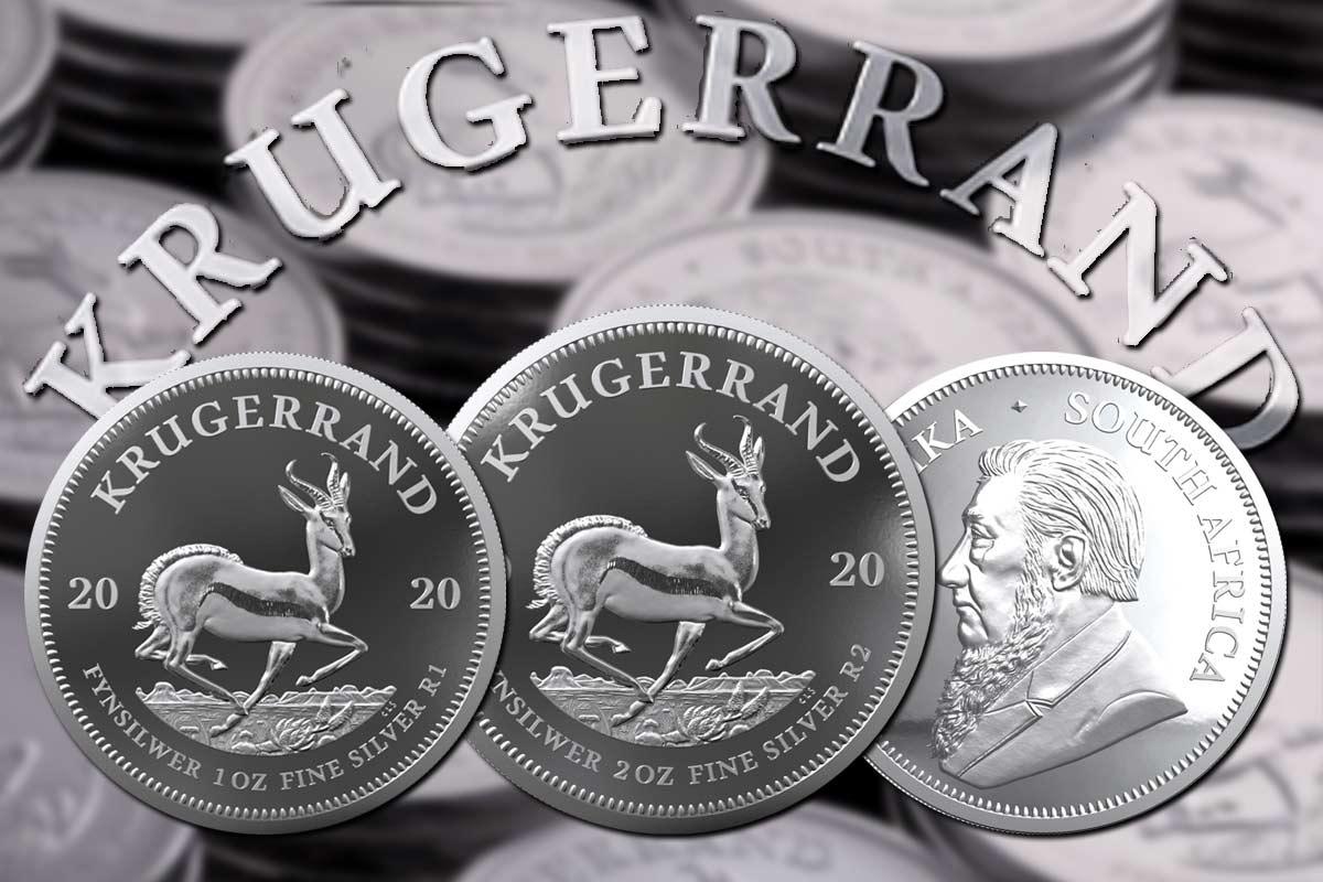 Krügerrand Silber - 2020 jetzt erhältlich!