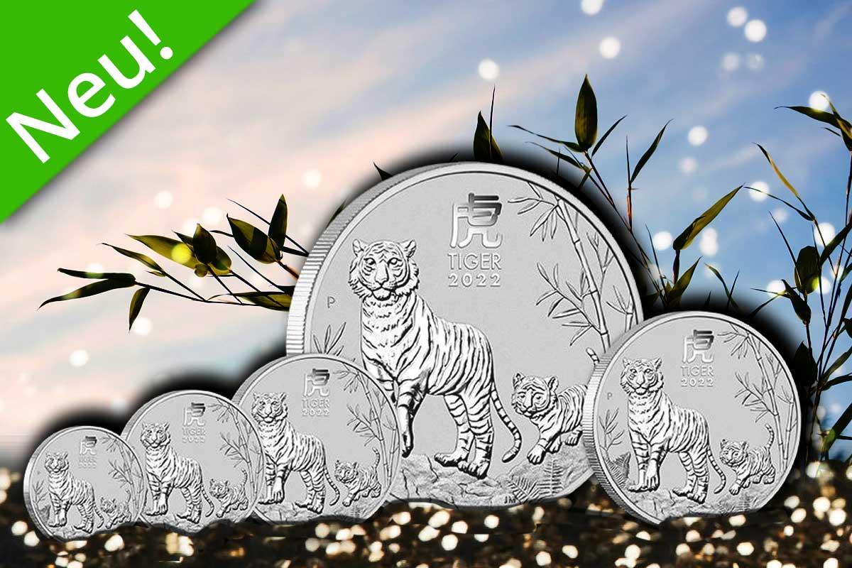 Lunar III in Silber – Neues Motiv Tiger 2022!