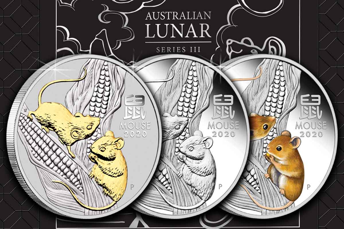 Lunar III Silber Maus 3 Coin Set - jetzt vergleichen