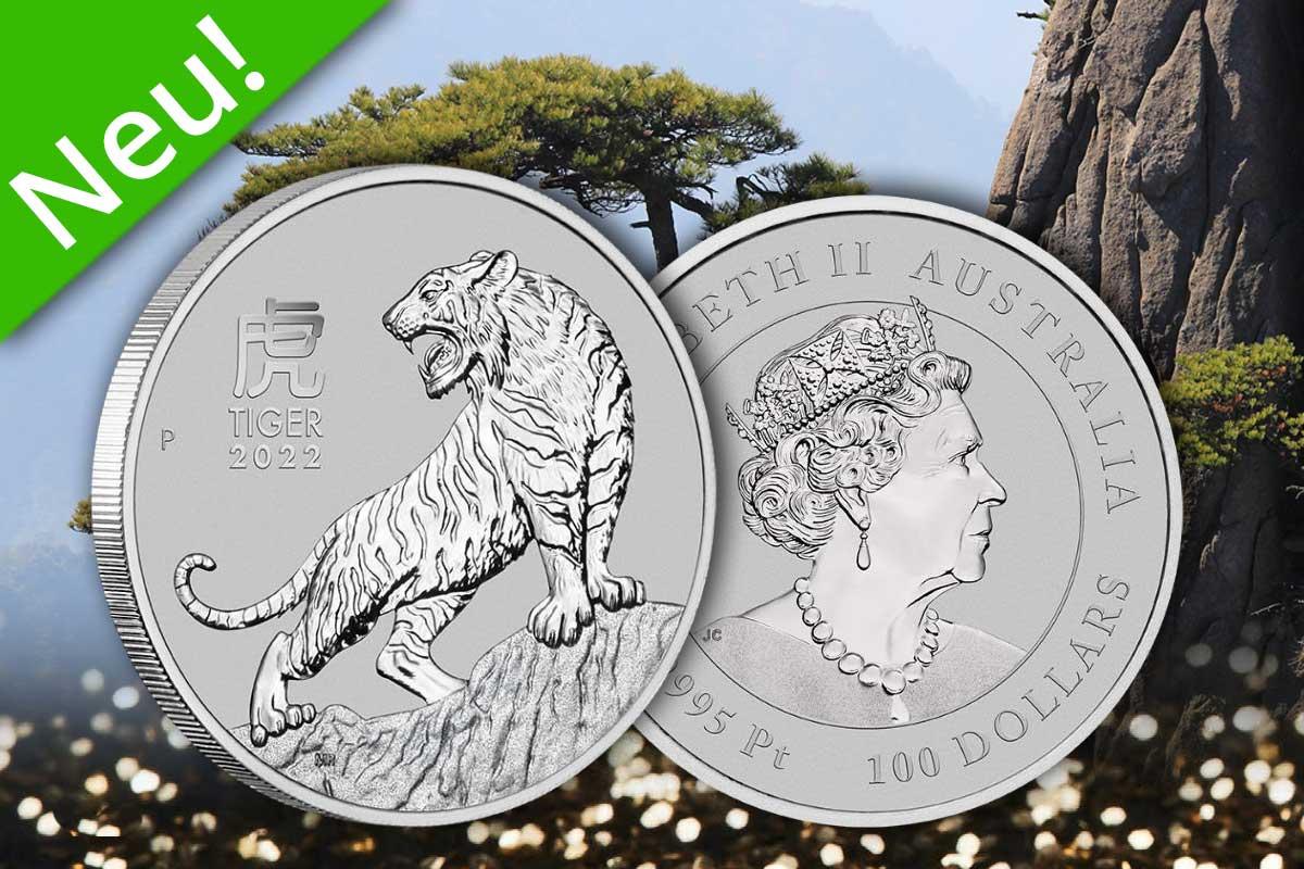 Lunar III Year of the Tiger 2022 in Platin: Ist da!