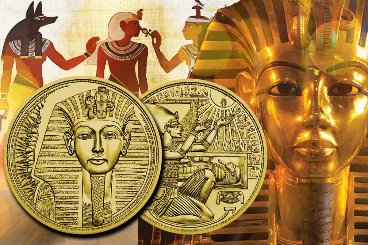 """Magie des Goldes 50 Euro Münze 2020: """"Das Gold der Pharaonen"""" - Jetzt vergleichen!"""