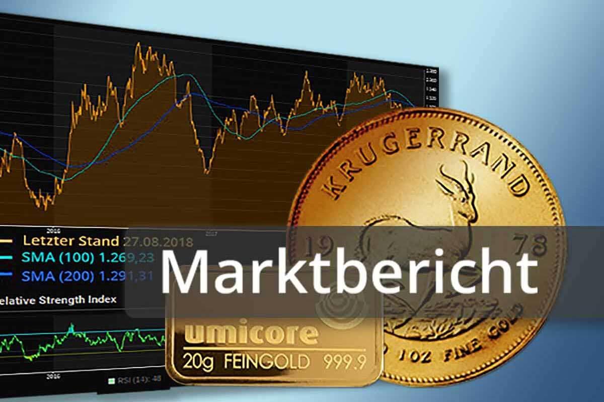 Gold: Trotz Kurseinbruch wenig volatil