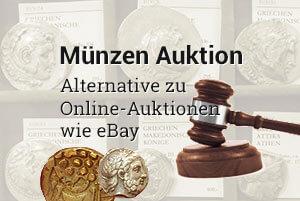Münzen Auktion: Alternative zu Online-Auktionen wie eBay