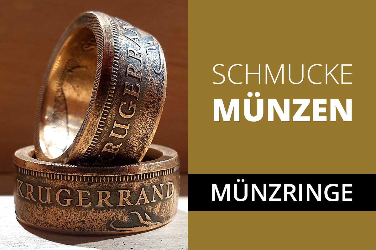 Münzringe: Die pfiffige Schmuckidee