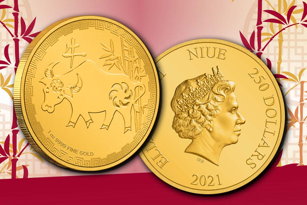 Niue Lunar - Ochse 2021 Gold: Jetzt vergleichen!