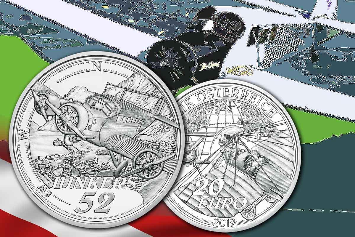 20-Euro Österreich Dem Himmel entgegen – Die Ära des Motorflugs - Jetzt hier