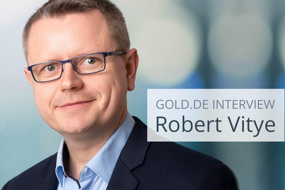 Go for Gold 2020: Robert Vitye im Interview
