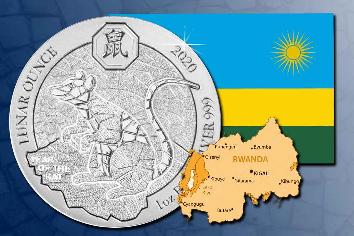 Jetzt vergleichen: Ruanda Lunar Ratte 2020 Silber