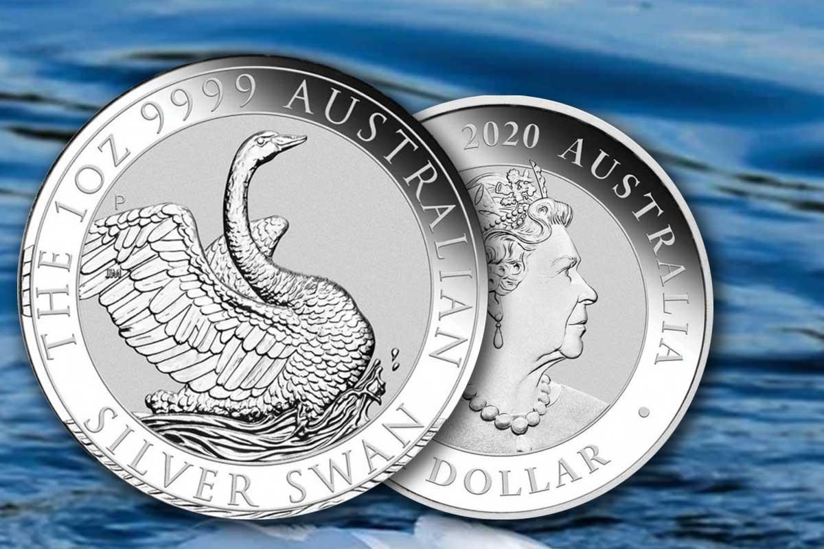 Schwan 2020 Silber - Neues Motiv - Jetzt hier!