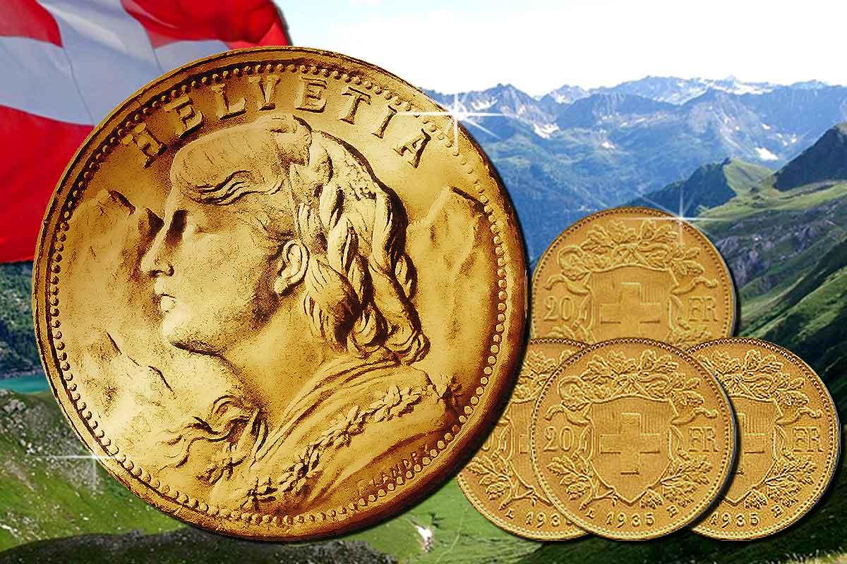 Schweizerin im Höhenflug: Vreneli Goldmünze stark gefragt