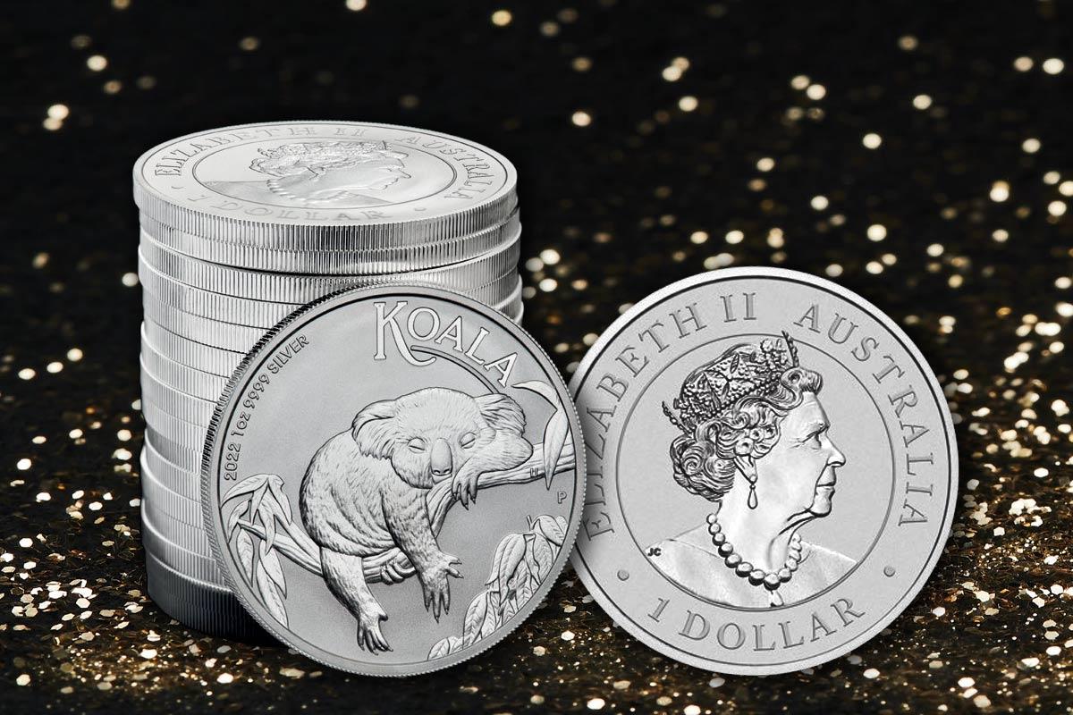 Silber Koala 2022: Neues Motiv erschienen