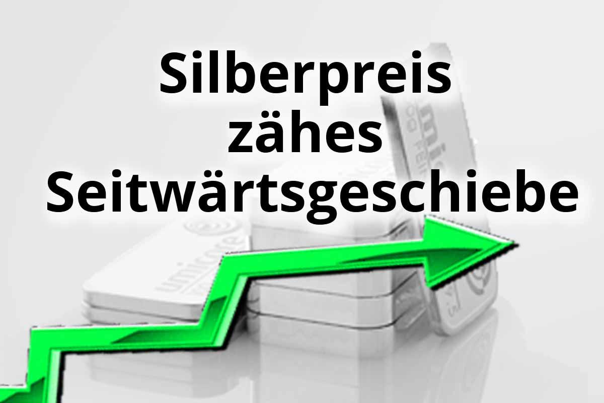 Silber – Zähes Seitwärtsgeschiebe