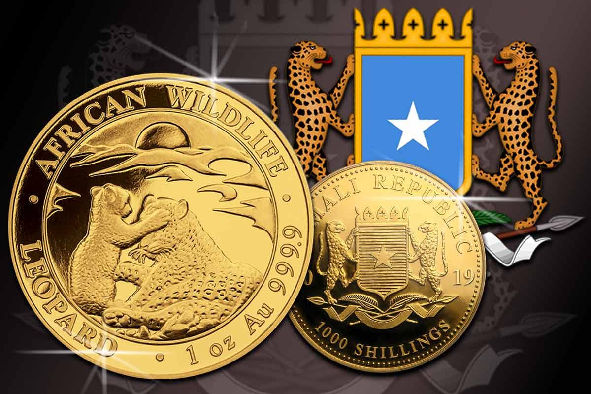 Somalia Leopard 2019 in Gold jetzt hier!