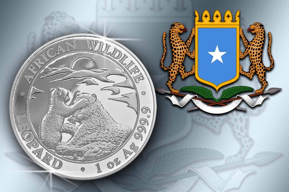 Jetzt erhältlich: Somalia Leopard 2019 Silber