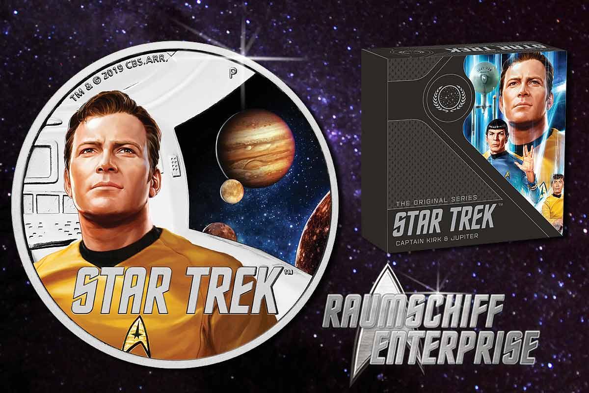 Star Trek - Captain James T. Kirk - TOS in Proof - Jetzt erhältlich!