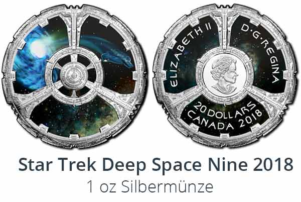 Deep Space Nine 2018 Proof in Farbe