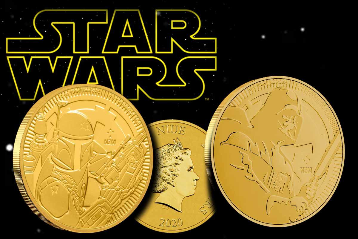 Star Wars Darth Vader & Boba Fett 2020 in Gold - Jetzt hier!