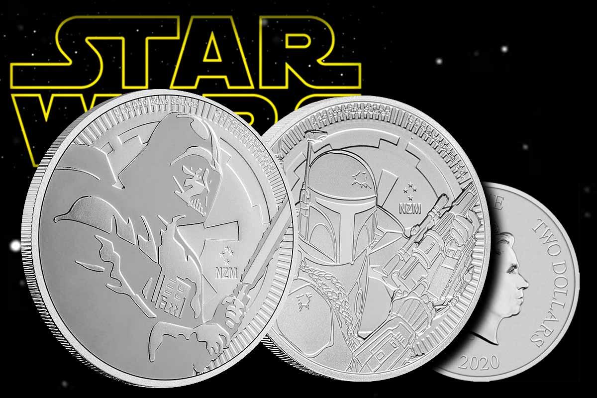 Star Wars - Darth Vader & Boba Fett 2020 in Silber