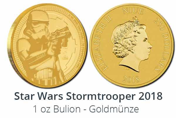 Stormtrooper 1 oz Gold Bullionmünze