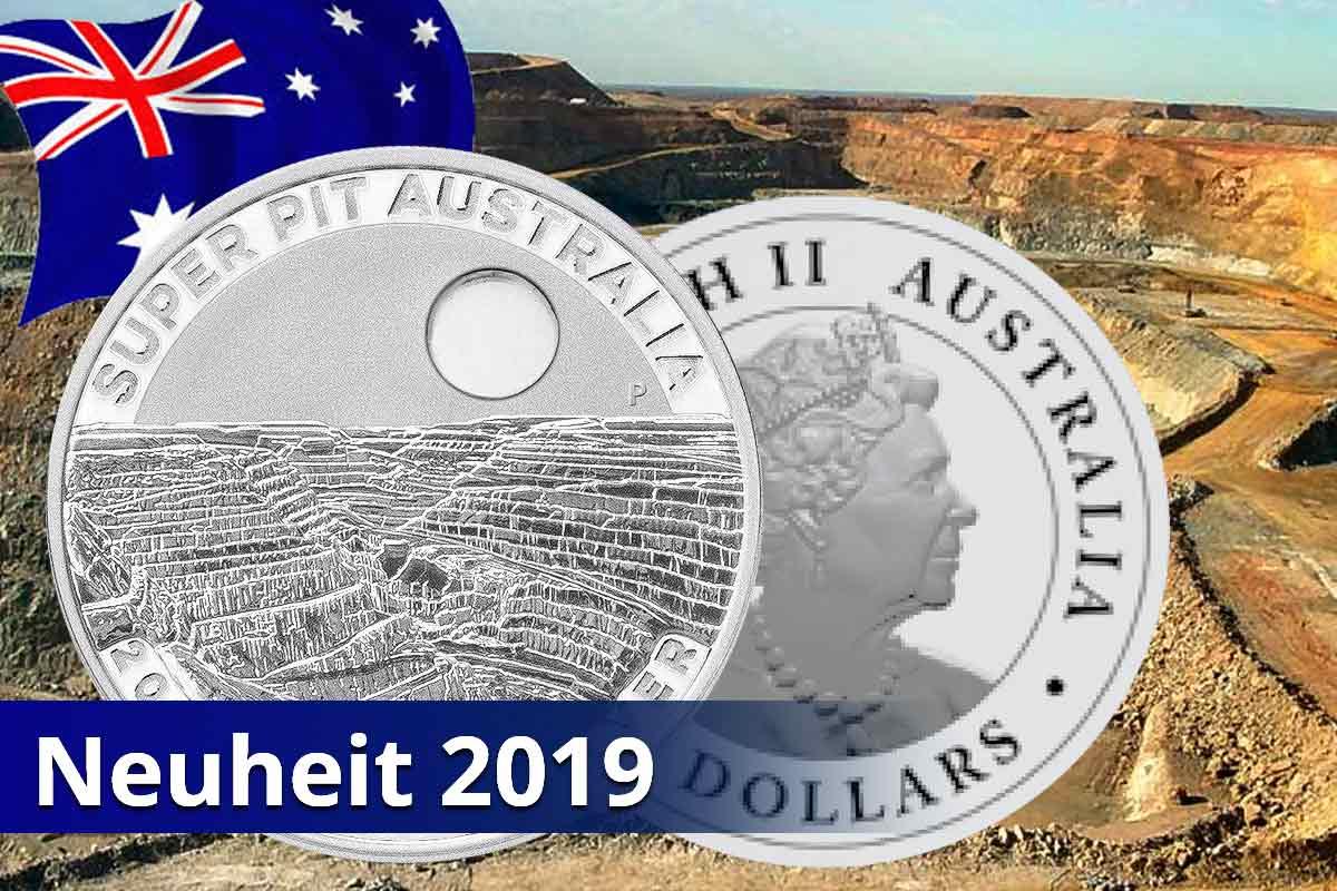 Neuheit der Perth Mint: Super Pit Silber