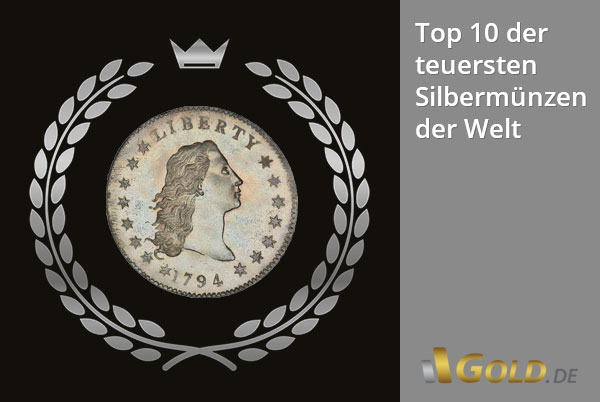 Teuerste Silbermünze der Welt - Top 10