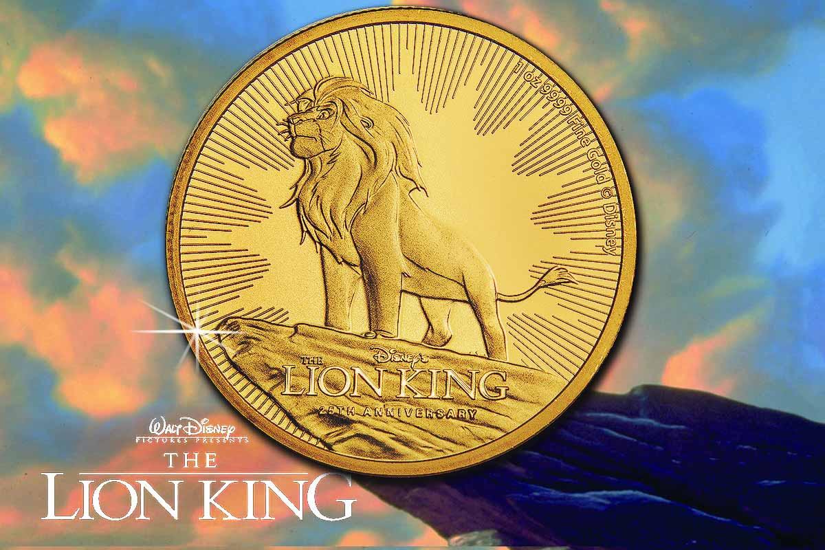 The Lion King Gold - jetzt hier erhältlich