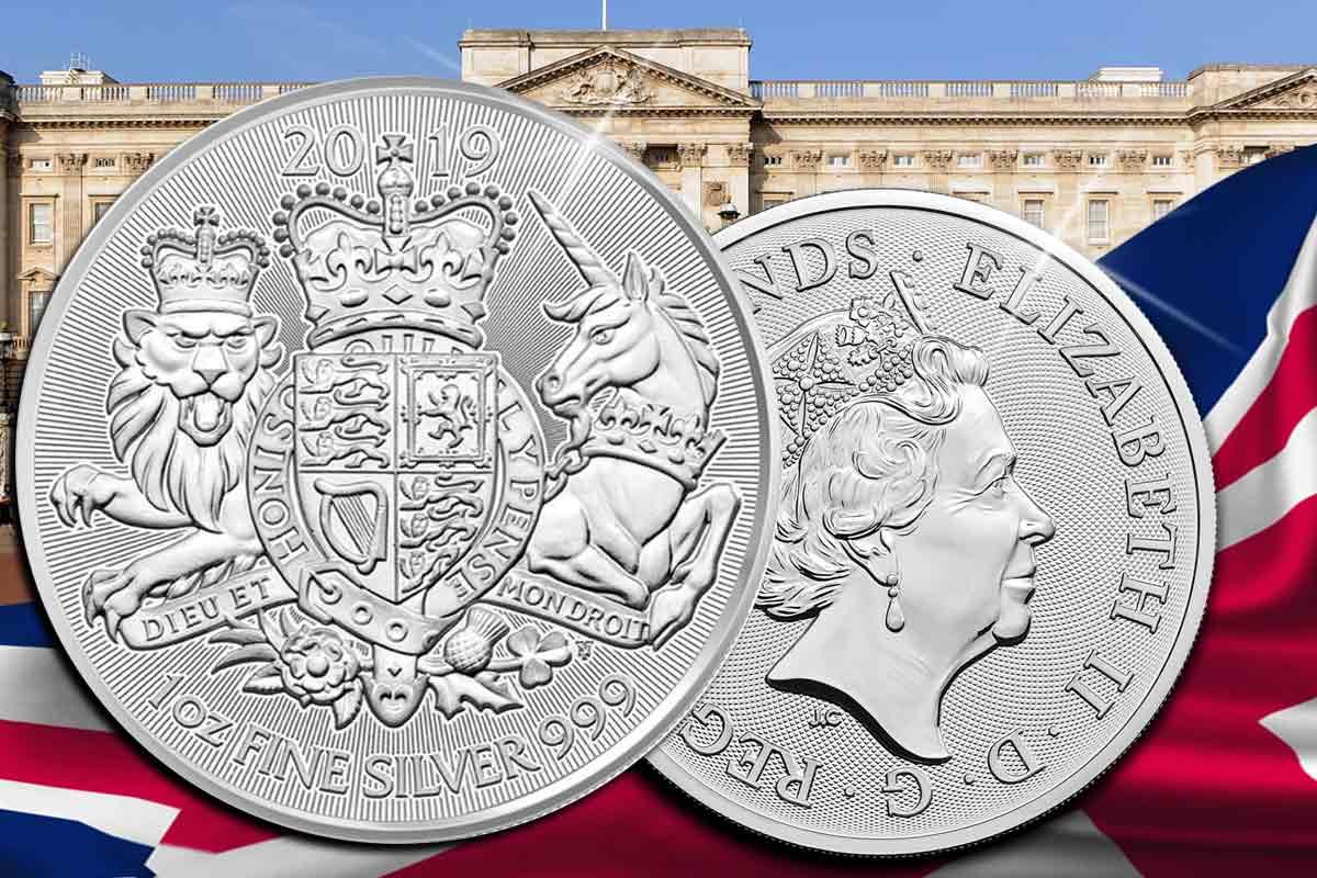 Jetzt erhältlich! The Royal Arms Silber 2019