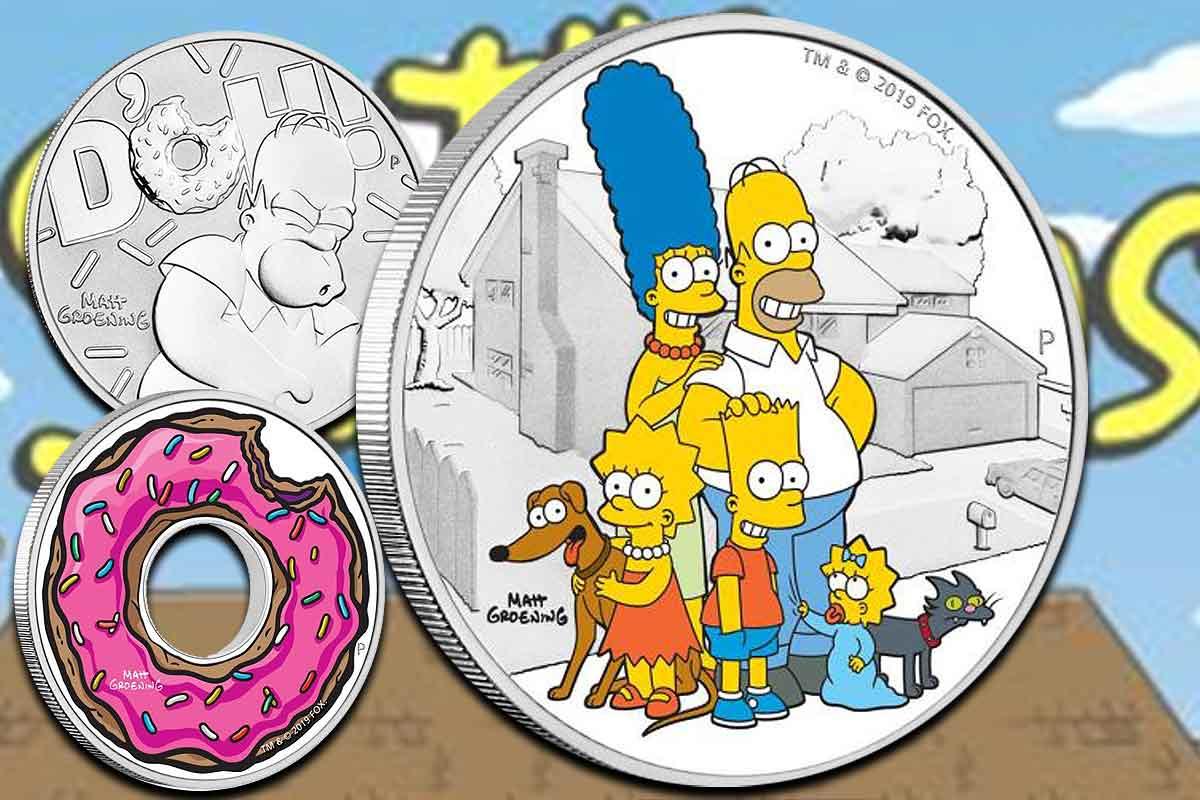 The Simpsons - Jetzt als Silbermünzen bestellen